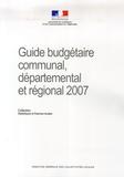 Ministère de l'Intérieur - Guide budgétaire communal, départemental et régional.