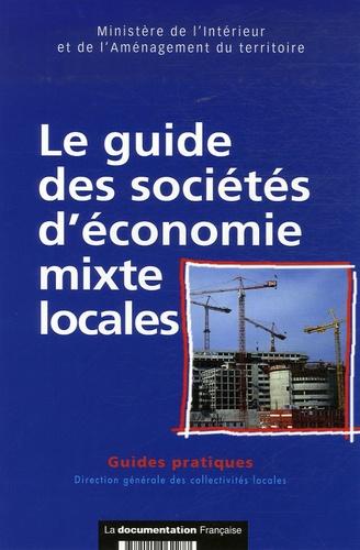 Ministère de l'Intérieur - Le guide des sociétés d'économie mixte locales.