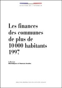Galabria.be LES FINANCES DES COMMUNES DE PLUS DE 10 000 HABITANTS 1997. 25ème édition/septembre 1999 Image