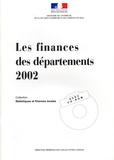 Ministère de l'Intérieur - Les finances des départements 2002. 1 Cédérom
