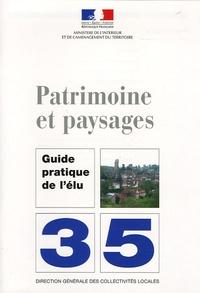 Ministère de l'Intérieur - Patrimoine et paysages.