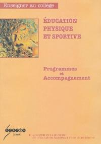 Ministère de la Jeunesse - Education physique et sportive - Programmes et accompagnement.