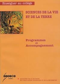 Ministère de la Jeunesse - Sciences de la vie et de la terre - Programmes et Accompagnement.