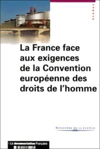 La France face aux exigences de la Convention européenne des droits de lhomme. - Analyse du contentieux judiciaire français devant les instances de Strasbourg.pdf
