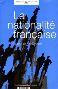 Rhonealpesinfo.fr LA NATIONALITE FRANCAISE. Textes et documents Image