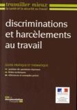 Ministère du Travail - Discrimination et harcèlements au travail.