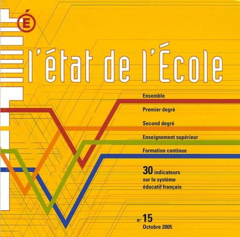 Ministère Education Nationale - 30 indicateurs sur le système éducatif français.