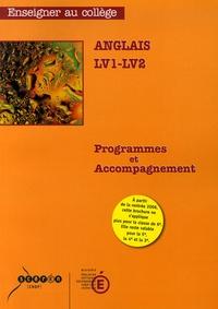 Ministère Education Nationale - Anglais LV1-LV2 - Programmes et accompagnement.