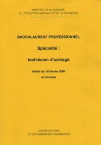 Histoiresdenlire.be Baccalauréat professionnel Spécialité : Technicien usinage Image