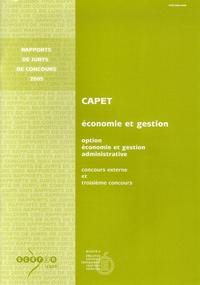 Rhonealpesinfo.fr CAPET Section Economie et Gestion Option Economie et Gestion administrative - Concours externe, Troisième concours Image