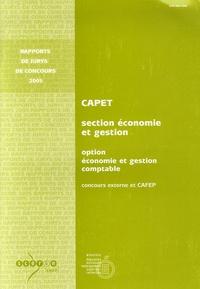 CAPET Section Economie et Gestion Option Economie et Gestion comptable - Concours externe et CAFEP.pdf