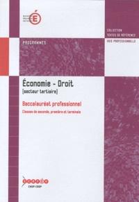 Histoiresdenlire.be Economie-Droit Baccalauréat professionnel (secteur tertiaire) - Programmes Image