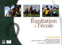 Ministère Education Nationale - Equitation à l'école - Essai de réponses.