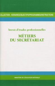 Galabria.be Métiers du secrétariat - Brevet d'études professionnelles Image