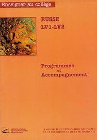 Ministère Education Nationale - Russe LV1 - LV2 - Programmes et accompagnement.