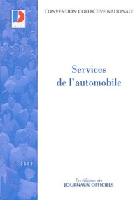 Ministère Emploi et Solidarité - Convention collective N° 3034 : Services de l'automobile.
