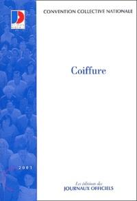 Ministère Emploi et Solidarité - Convention collective N° 3159 : Coiffure.