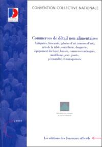 Convention Collective N 3251 Commerces De Detail Non Alimentaires