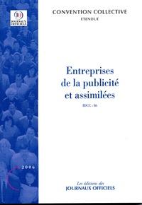 Entreprises de la publicité et assimilées (IDCC 86) - Convention collective N° 3073.pdf