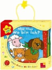 Miniwelt: Klipp-Klapp. Wo bin ich? Mein blaues Knister-Stoffbuch.