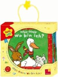 Miniwelt: Klipp-Klapp. Wo bin ich? Mein grünes Knister-Stoffbuch.