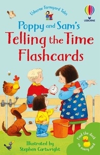 Minna Lacey et Stephen Cartwright - Poppy and Sam's telling the time flashcards.