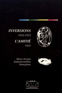 Histoiresdenlire.be Inversions 1924-1925 / L'Amitié 1925 - Deux revues homosexuelles françaises Image