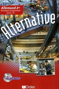 Mireille Audibert et Maryse Bachet - Allemand 2e Alternative. 2 CD audio