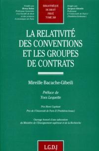 La relativité des conventions et les groupes de contrats.pdf