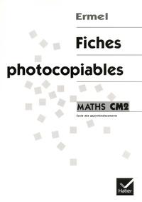 Mireille Brenner et Alain Simonato - Maths CM2 - Fiches photocopiables.