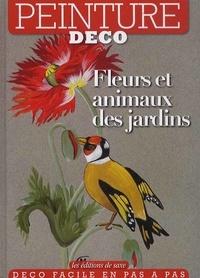 Mireille Cardon - Fleurs et animaux des jardins.