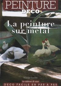 Mireille Cardon - La peinture sur métal.