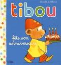Mireille d' Allancé - Tibou fête son anniversaire.