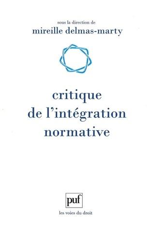 Critique de l'intégration normative. L'apport du droit comparé à l'harmonisation des droits