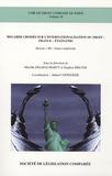 """Mireille Delmas-Marty et Stephen Breyer - Regards croisés sur l'internationalisation du droit : France-Etats-Unis - Réseau """"ID"""" franco-américain."""