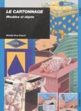 Mireille Gras Depoix - Le cartonnage - Meubles et objets.