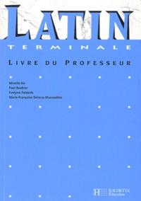 Mireille Ko et Paul Boehrer - Latin Tle - Livre du professeur.