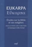 Mireille Loubet et Didier Pralon - Eukarpa, études sur la Bible et ses exégètes.