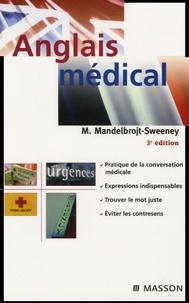 Anglais médical - Mireille Mandelbrojt-Sweeney pdf epub