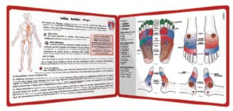 Cartes de réflexologie pratique