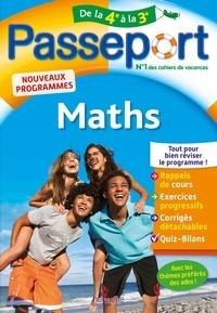 Mireille Semat - Passeport Maths de la 4e à la 3e.