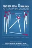Miriam Jimeno Santoyo - Conflicto social y violencia - Notas para una discusión.