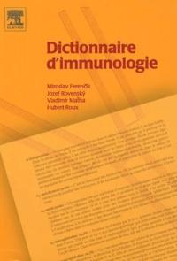 Miroslav Ferencik et Jozef Rovensky - Dictionnaire d'immunologie.