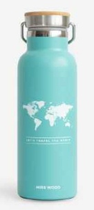 Miss Wood - World mint bouteille isotherme.