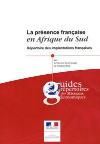 La présence française en Afrique du Sud - Répertoire des implantations françaises.pdf