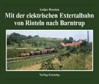 Mit der elektrischen Extertalbahn von Rinteln nach Barntrup.