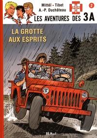 Mittéï et  Tibet - Les aventures des 3A Tome 2 : La grotte aux esprits - Avec un ex-libris numéroté.