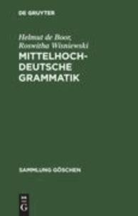 Mittelhochdeutsche Grammatik.