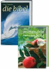 mittendrin Gute Nachricht Bibel + Bibellese-Buch 2014 - Kombipaket.