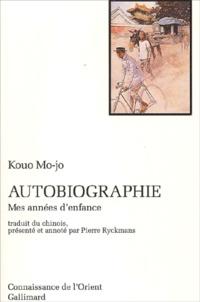 Autobiographie. - Mes années denfance.pdf